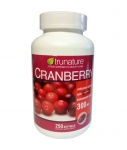 Клюква Trunature Cranberry Extract Healthy Urinary Tract - 250 капсул