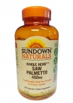 Со Пальметто-Sundown Naturals Saw Palmetto Herbal Supplement Capsules - 250 капсул